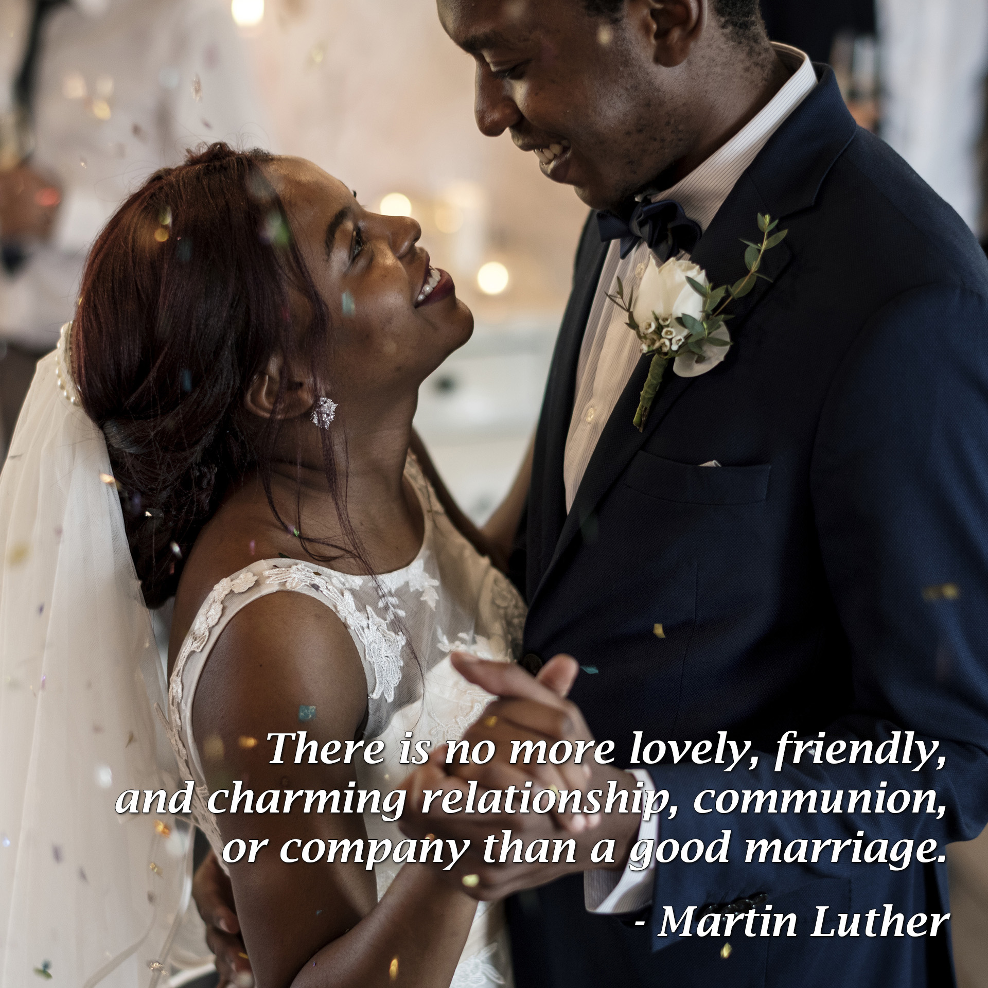 "There is no more lovely, friendly, and charming relationship, communion, or company than a good marriage. - Martin Luther - Love Smarts - Be ""Love Smart"" in a love-challenged world!"
